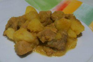 Guiso de carne con patatas