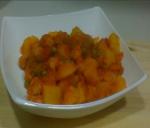 Estofado de patatas con salchichas