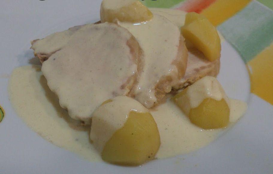 Lomo con mostaza de Dijon