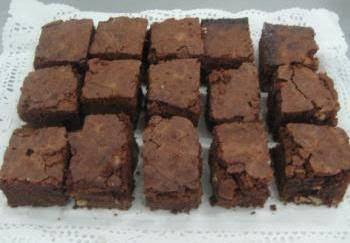 Bizcocho brownie