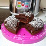 Bizcocho de chocolate jugoso