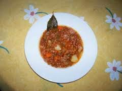 Lentejas estofadas tradicionales