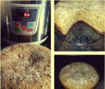 Bizcocho de natillas, canela y galletas