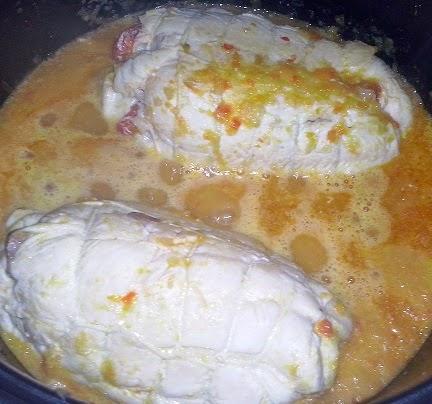 Pechugas de pollo rellenas