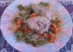 Cazuela de pollo y verduras