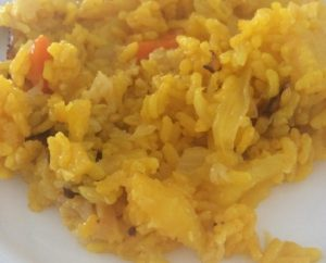 Receta arroz con verduras en olla GM Alfa