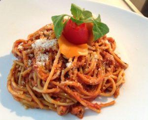 Receta espagueti con atún