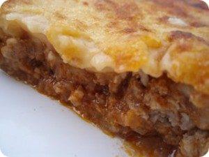 Pastel de carne receta Olla GM Alfa