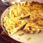 Quiche de bacon y queso