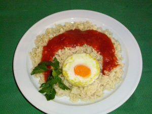 Receta de arroz a la cubana con olla GM modelo Alfa