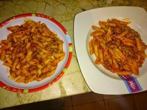 Receta de Macarrones a la boloñesa en olla GM Alfa