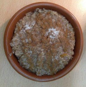 Receta de arroz caramelizado con dull para olla GM modelo Alfa