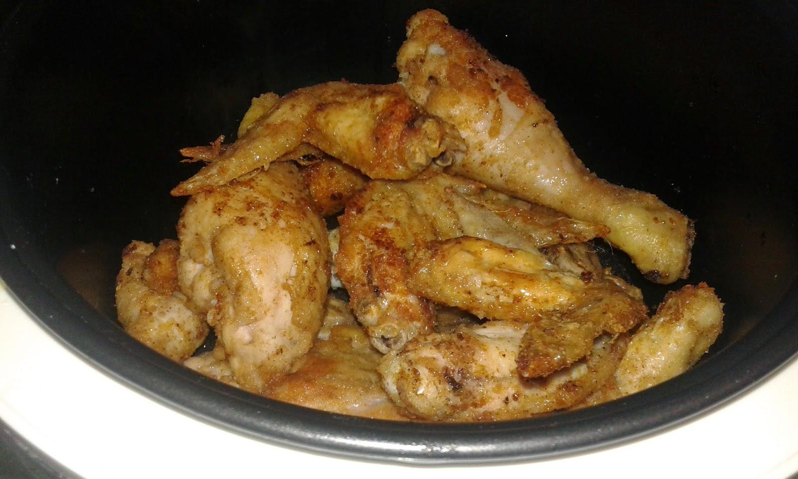 Pollo con pan rallado