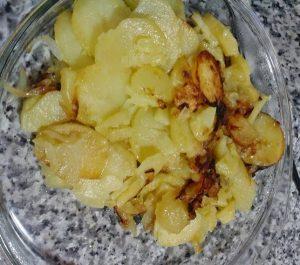 Receta de Patatas a lo pobre en olla GM modelo Alfa