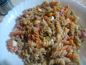 Ensalada fresca de pasta