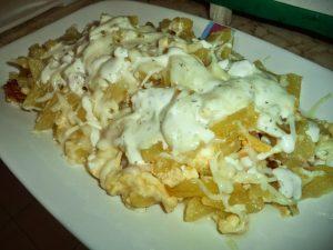 Patatas con bacon y salsa césar receta olla GM Alfa