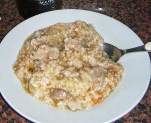 Receta de arroz con pollo en olla GM Alfa BePro Chef Premier Prixton Thermomix y GM Beta