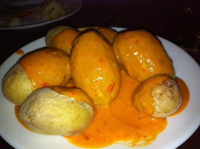 (Patatas) papas arrugás