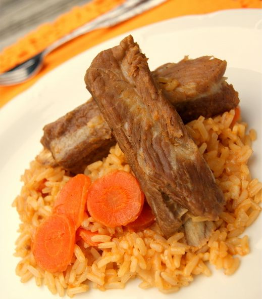 Arroz con costillas