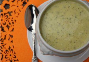 Crema de calabacín al curry