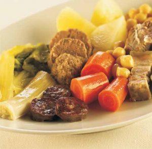 Cocido catalán o escudella