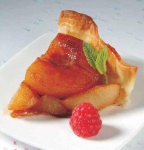 Tarta de peras al romero