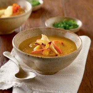 Sopa de verduras de invierno