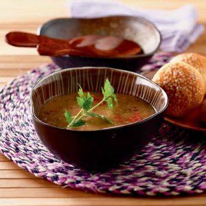 Sopa de berenjena al estilo brasileño