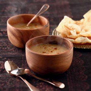 Crema de coliflor al garam masala
