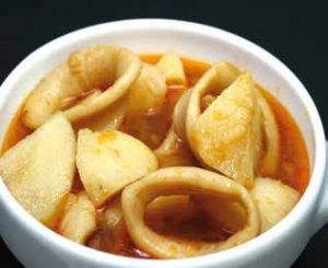 Calamares con patatas