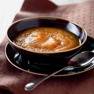 Sopa de zanahorias al estilo portugués