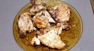 Pollo frito al limón