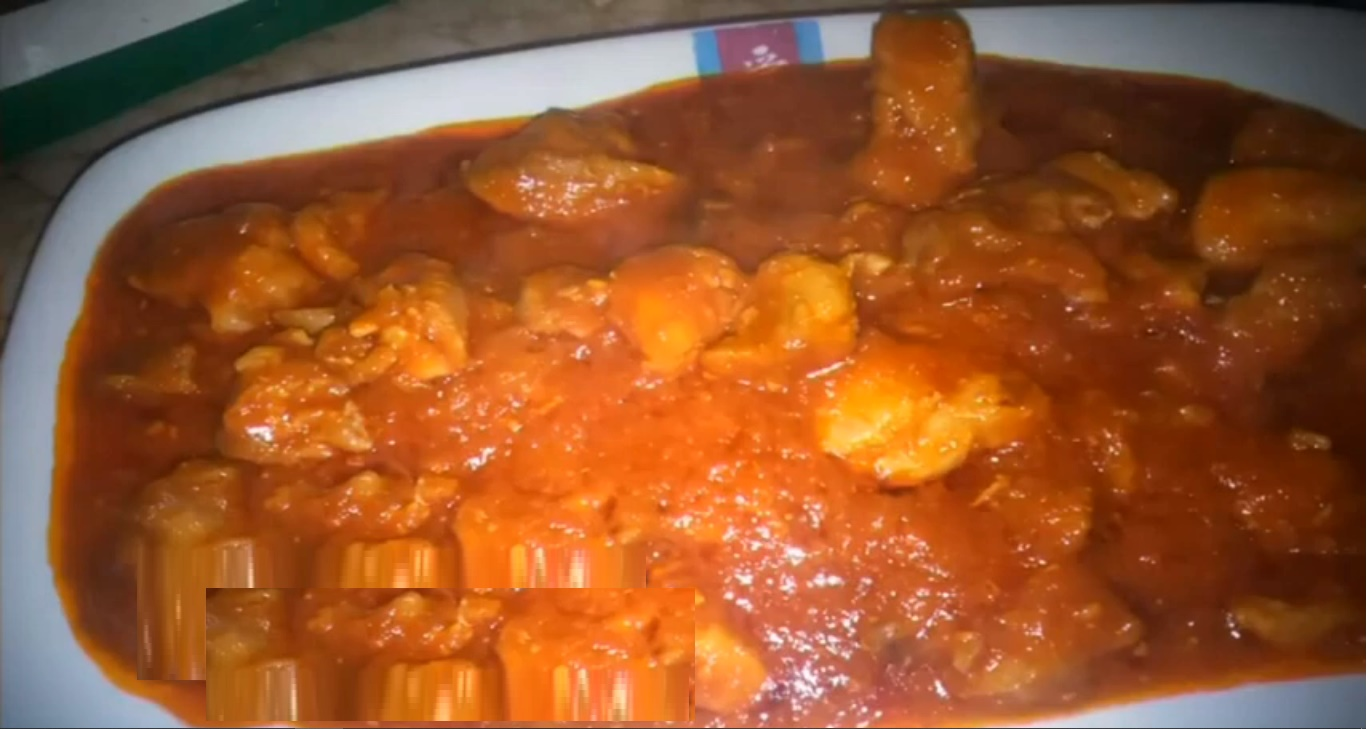 Carne magra con tomate