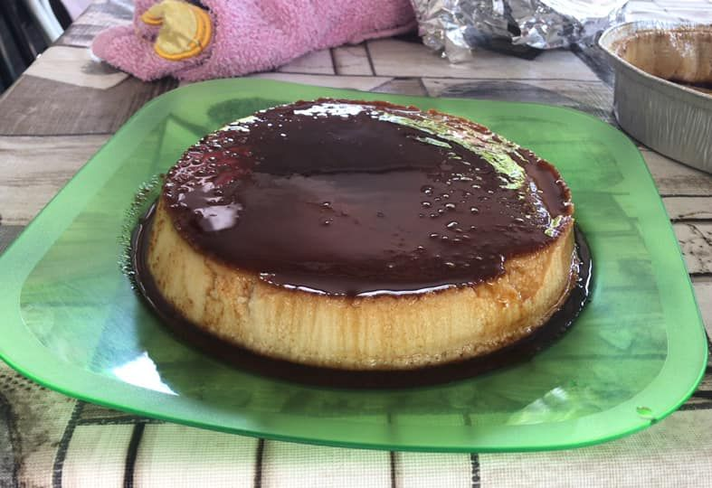 Flan style=